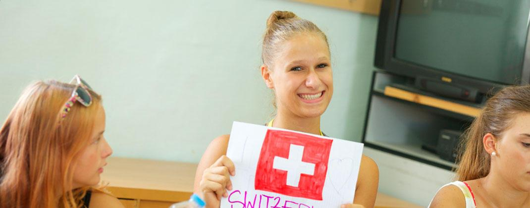 Uno studente dalla Svizzera