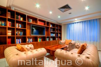 Hotel Argento, St Julians - lounge area