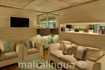 Lounge area all'hotel Juliani