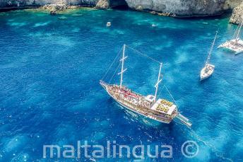 Gita a Crystal Bay, Malta