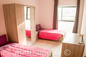 Camera doppia in un appartamento condiviso, Malta