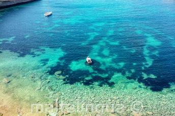 Veduta di una baia a Malta