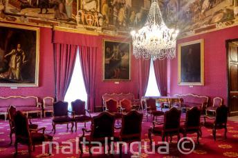 Un palazzo a La Valletta