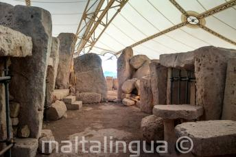 I templi preistorici a Hagar Qim