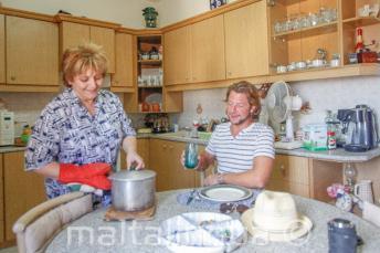 Le nostre famiglie offrono mezza pensione