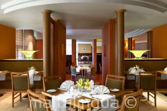 Il ristorante di Le Meridien, St Julians