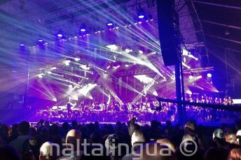 Rockestra concerto rock-symphony a Malta