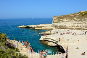 Visitare St Peters Pool, Malta