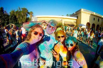 Holi color party a St Julian's