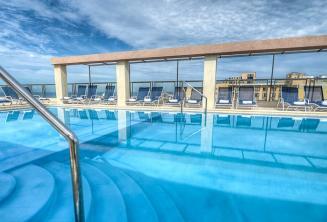 Hotel Alexandra Malta - Piscina sul tetto