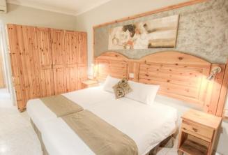 Una camera al Alexandra Hotel, St Julians