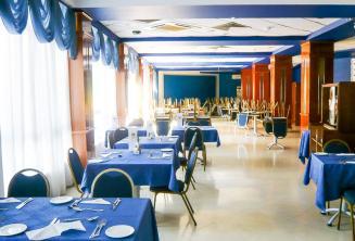 Sala da pranzo del residence