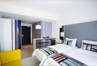 Una stanza una dell' Hotel Valentina, Malta