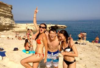 Gita a St Peters Pool a Malta
