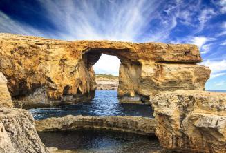Azure Window a Gozo