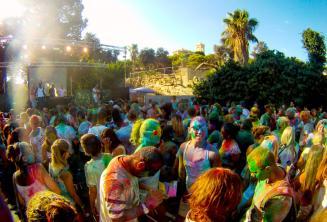 Festa Holi colour in Malta