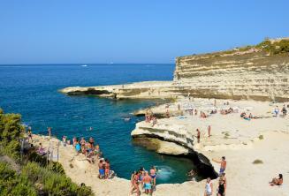 Visitare St Peters Pool, Malta