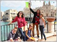 Language journey Malta